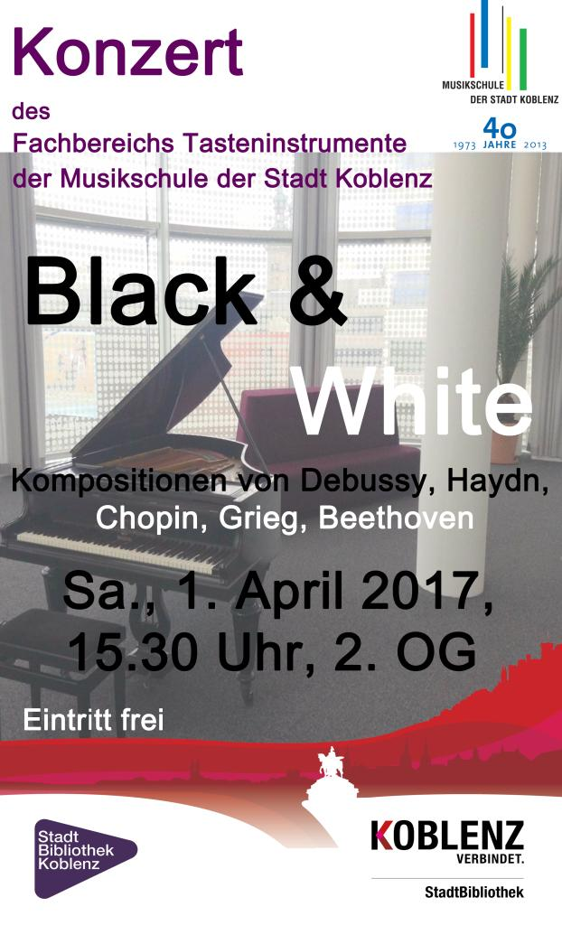 plakat black u white hoch internet
